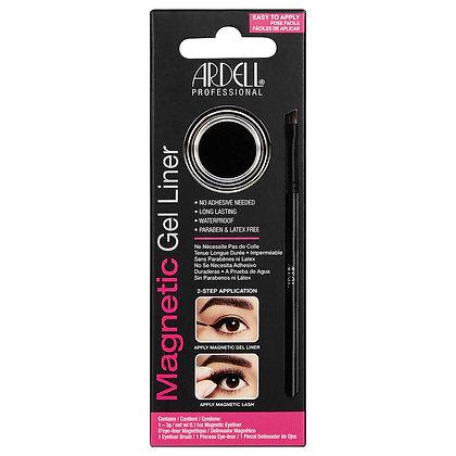 Gel Eyeliner Magnétique Noir 3gr et son pinceau biseauté