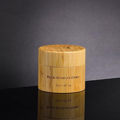 Crème hydratante pour le visage à l'huile de graines de chanvre - 50 ml