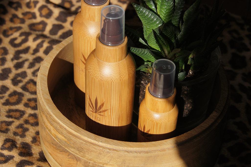 Organic Hemp Line, France, Bambou, Bio, éco cert , huile de chanvre, cosmétique, extrait naturel,