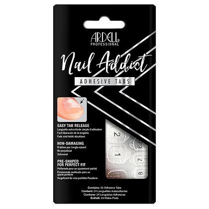 Languettes Adhésives pour Faux-ongles Prêts à poser Ardell Nail Addict