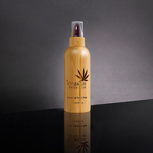 Nettoyant hydratant pour le visage à l'huile de graines de chanvre 100 ml