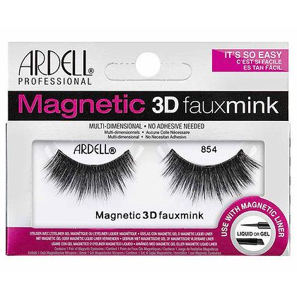 Faux-cils magnétiques simple frange 3D Faux Mink 854