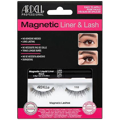 Kit magnétique Feutre Eyeliner & faux-cils 110