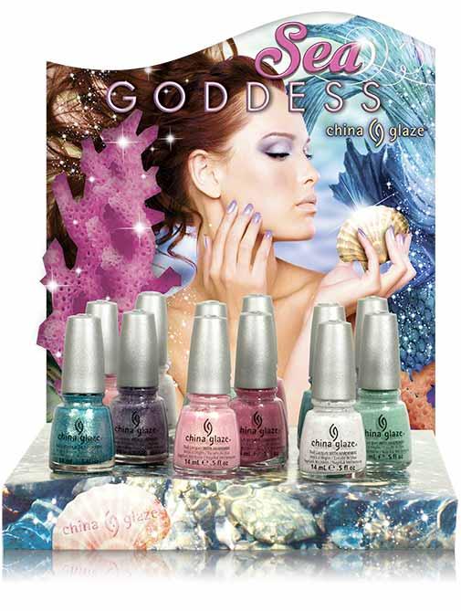 présentoir sea goddess 12 pc