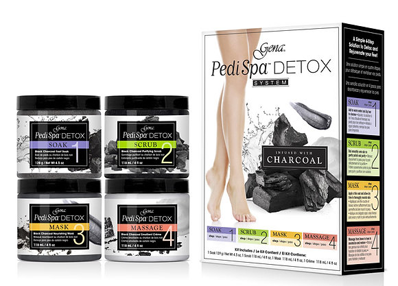 Kit Pedi Spa detox