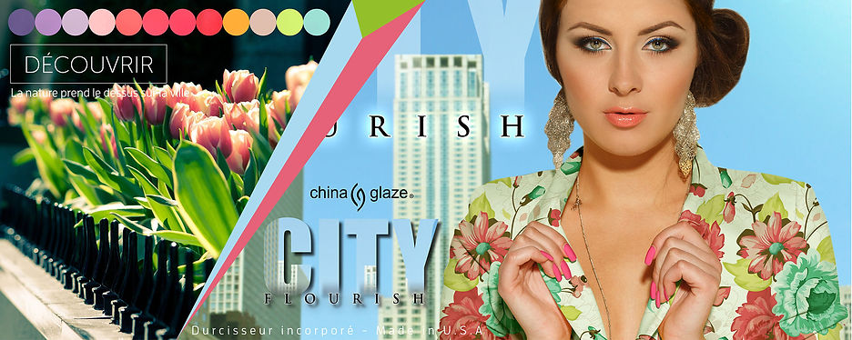 vernis china glaze collection city flourish
