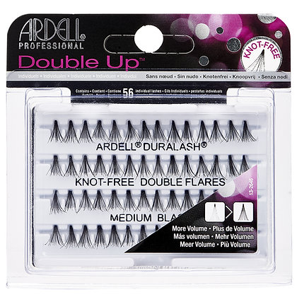 Faux-cils Touffes Knot-free Double Up Medium