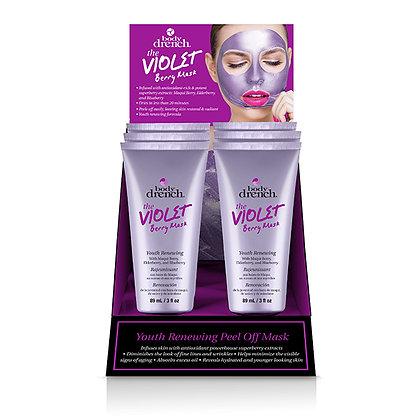 Présentoir 6 Masques Violet Fruits des Bois