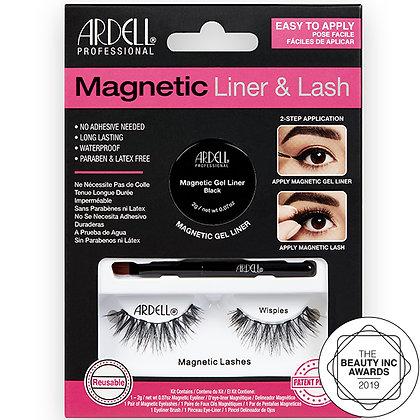 Kit Magnetic Eyeliner & Lash Wispies