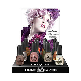 Hunger Games, Laugier, china glaze, collaboration artistique, vernis a ongles,