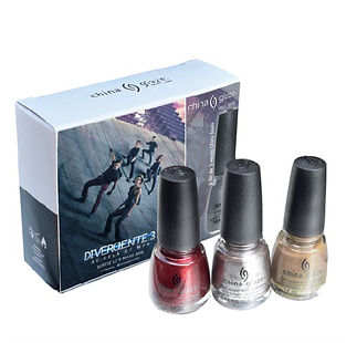 divergente, collaboration, china glaze,vernis a ongles, Institut Laugier rue Galvani