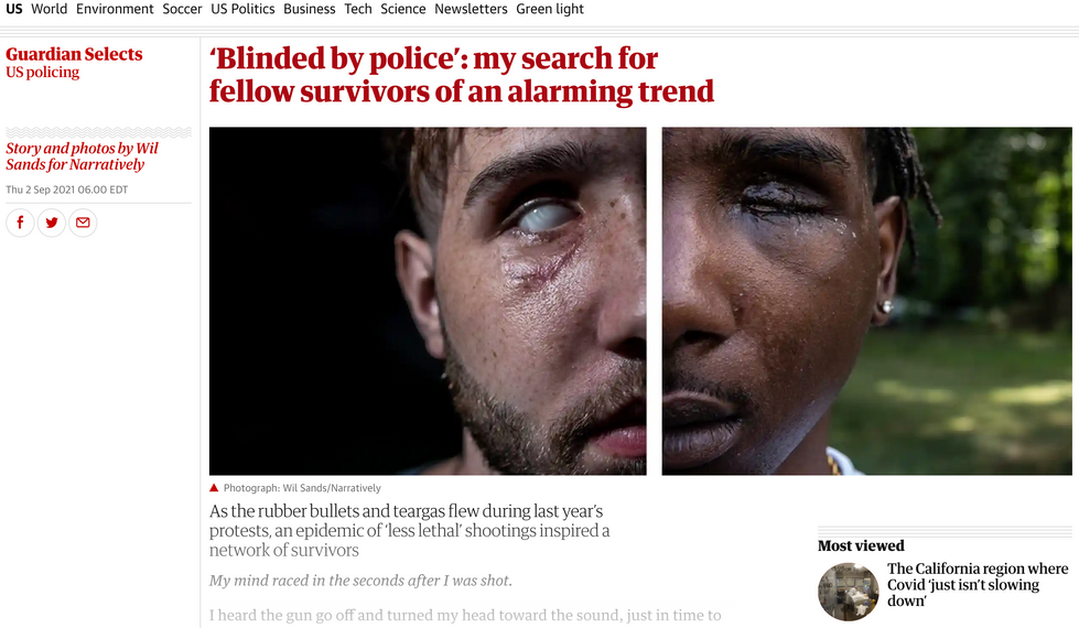 Blinded By Police