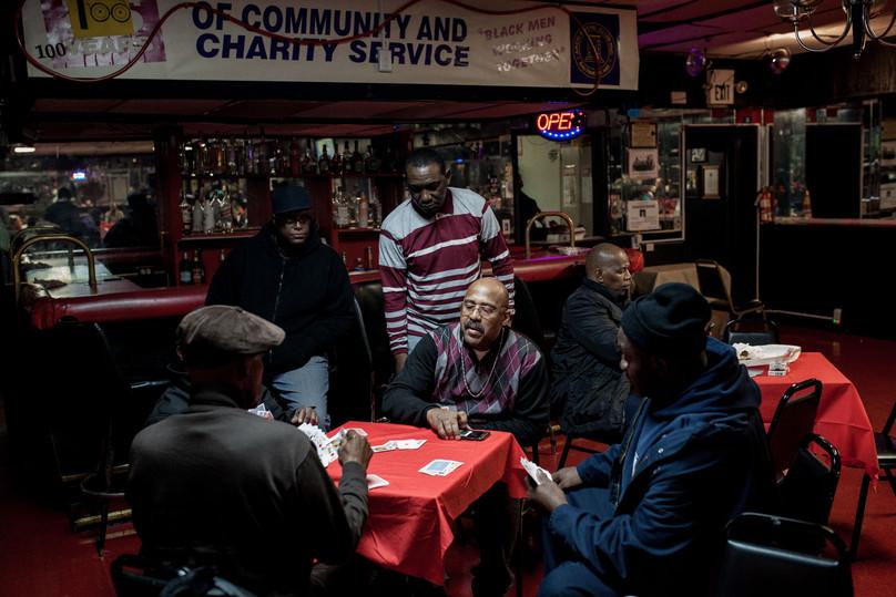 Inside a Social Club Where Black Lives Always Matter