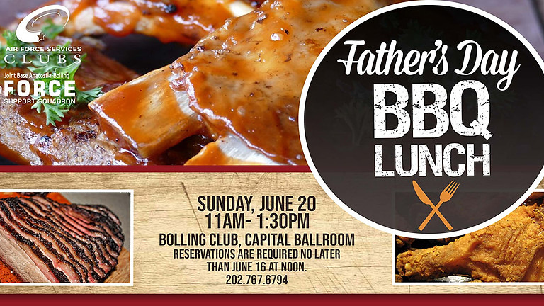 Father's Day BBQ Lunch
