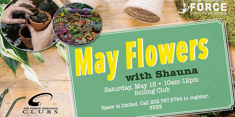 May Flowers with Shauna