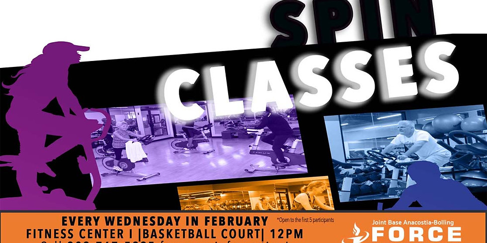 February Spin Classes