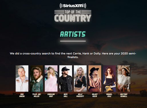 Brittany Kennell parmi les 8 semi-finalistes du concours Top of the Country de SiriusXM Canada!