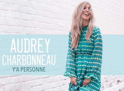 Audrey Charbonneau lance une toute première chanson originale dans le style new country pop