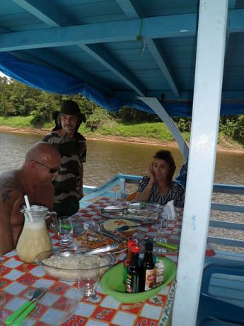repas à bord