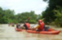 Randonnée en canoë-kayak sur le fleuve Mono au Sud Togo