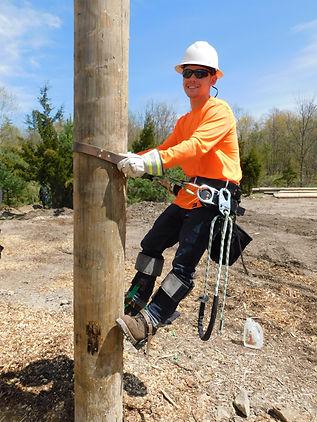 Jacob on Pole.JPG