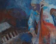 Blues 100x80 cm