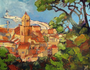 Saint-Tropez 92x73 cm
