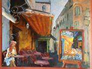 Café Van Gogh 100x81 cm