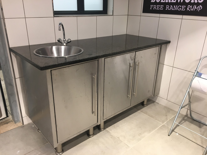 custom made kitchen stainless steel fixt