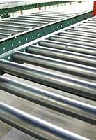 gravity-roller frame