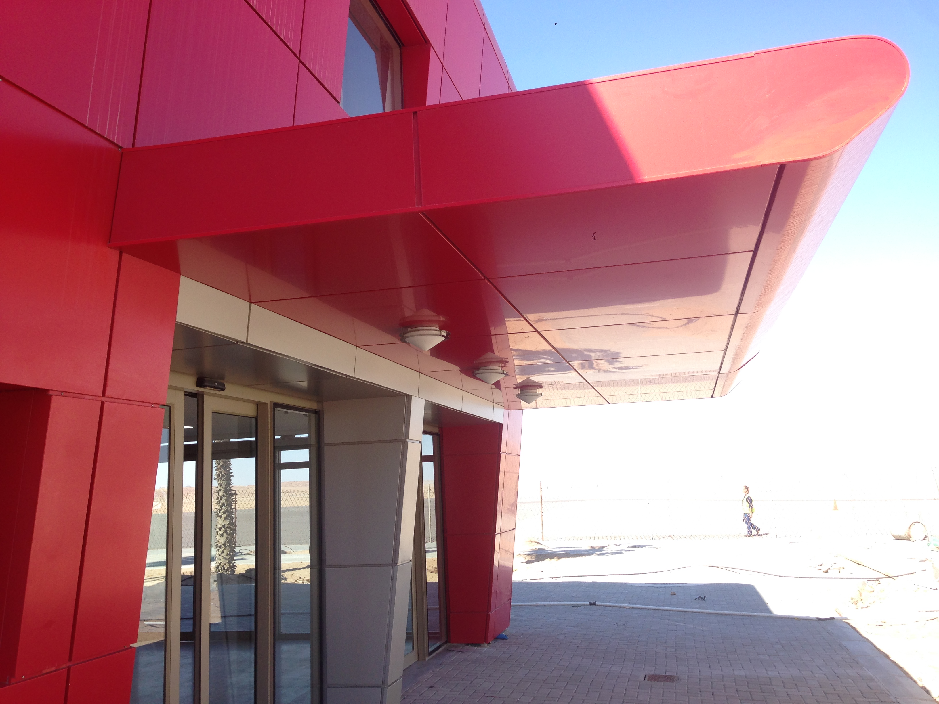 africa aluminium - facade - canopy c