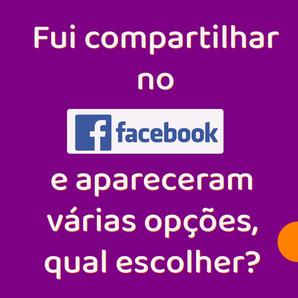Como compartilhar uma publicação no Facebook