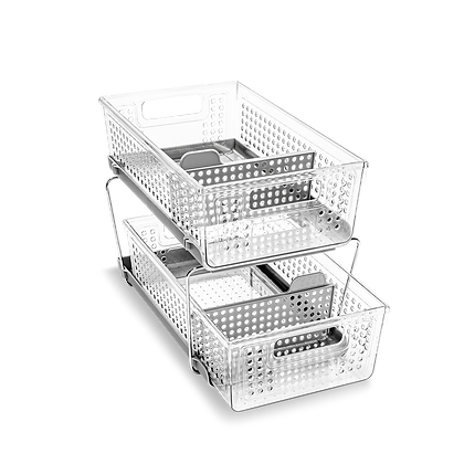 Two Tier Organizer with Dividers