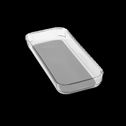 Clear Soft-Grip Bin