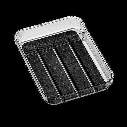 Clear Mini Silverware Tray