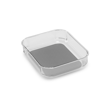 Clear Soft-Grip Bin