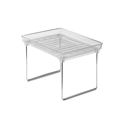 Small Clear Stacking Shelf