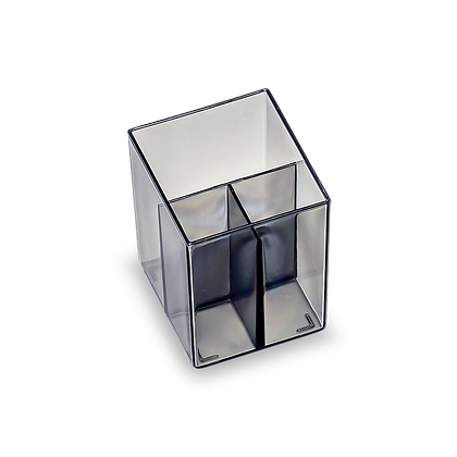 Square Divided Pencil Cup