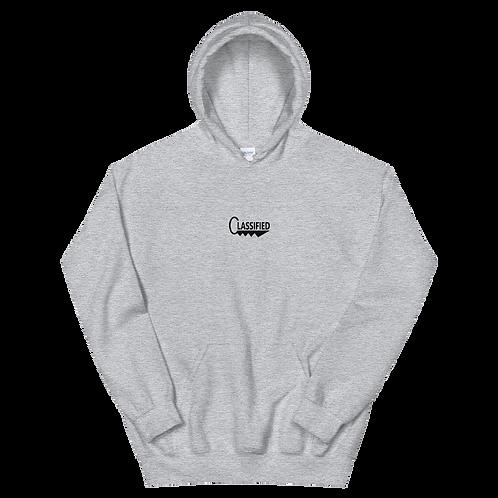 """Grey Classified """"Key"""" hoodie"""