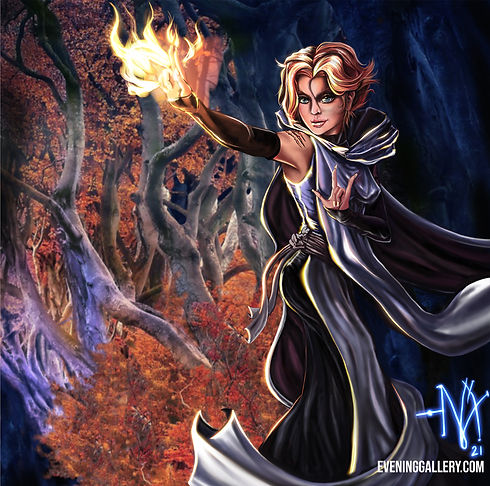Sypha Belnades Castlevania Fan Art