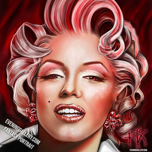 Marilyn Monroe Fantasy Portrait