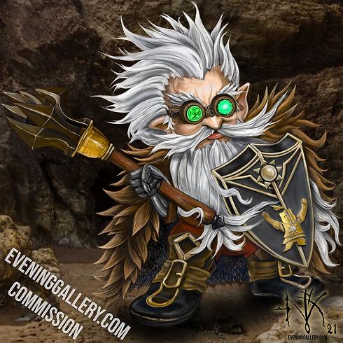 gnome fantasy art