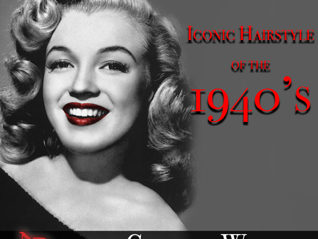 History of Hair: The Glamour Wave - Iconic Hairstyle of the 1940s (How to included) 2021
