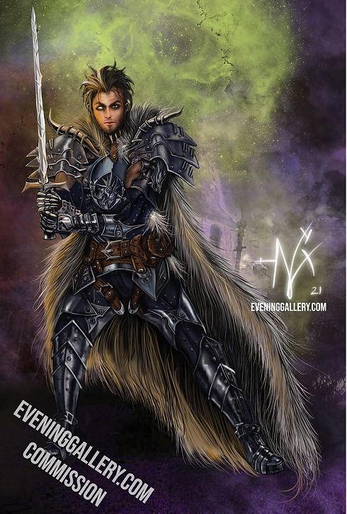 epic armor human warrior