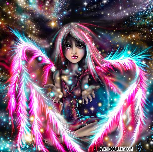 Starchild Pixie Digital Painting