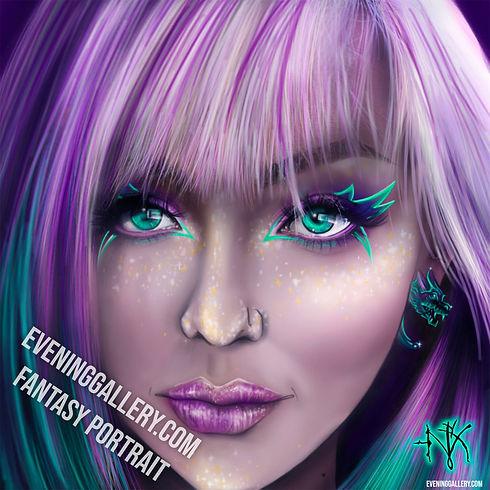 Mys Nyx Fantasy Portrait Aurora
