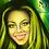 Thumbnail: N2D Lightning Lemon Clip In Hair Extensions