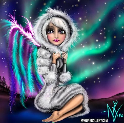 Aurora Pixie Digital Painting