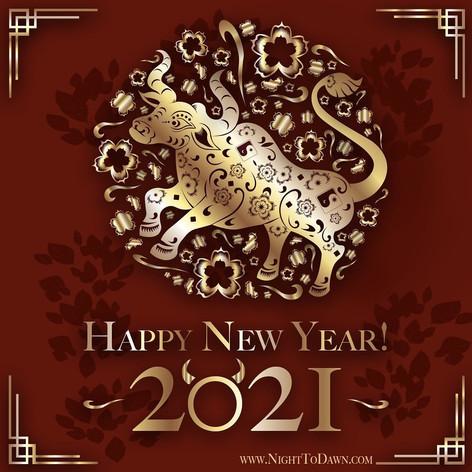 Lunar New Year 2021 Ox Image