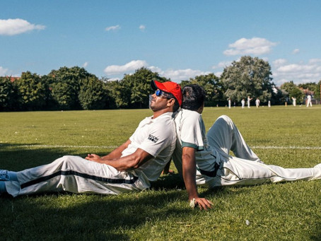STERLING SPONSORS THE GRACES TEAM AS THEY TAKE PART IN THE WORLD'S FIRST LGBTQ+ CRICKET MATCH
